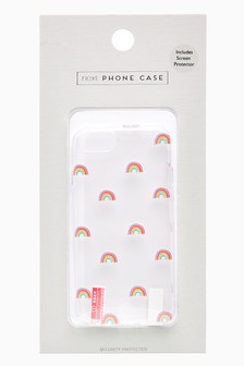 Rainbow Print Phone Case