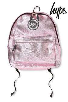 Hype. Pink Foil Backpack