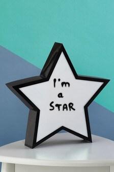 Star Memo Box Feature Light