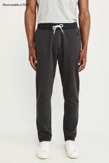 Pantalones de chándal clásicos color antracita de Abercrombie & Fitch