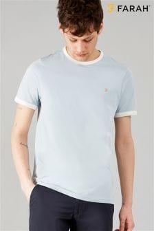 Farah Groves T-Shirt, blau
