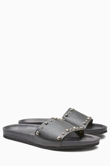 Stud Footbed Sandals