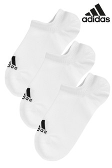 adidas Adults Invisible Socks 3 Pack