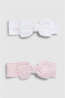 Headbands Two Pack (0mths-2yrs)