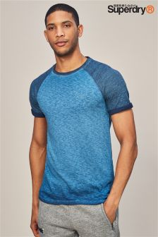 Superdry Blue Raglan T-Shirt