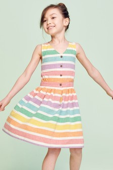 Button Summer Dress (3-16yrs)