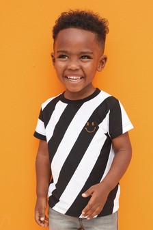 Diagonal Stripe T-Shirt (3mths-7yrs)