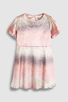 Ombre Velour Dress (3-16yrs)