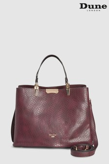 Dune Berry Croc Darrow Compartment Tote