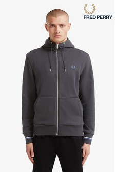 Fred Perry Zip Through Hoody