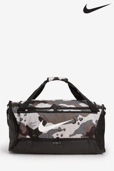 Nike Brasilia Camo Duffel Bag
