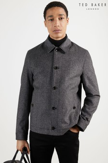 Ted Baker Conch Puppytooth Harrington Jacket