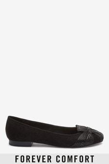 14d8fb7def0d0 Ballerina Shoes | Black & Red Ballet Shoes | Next UK