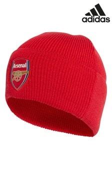 adidas Red Kids Arsenal Football Club Beanie