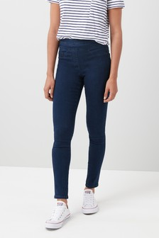 Sculpt Pull-On Denim Leggings