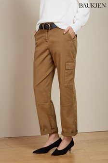 Baukjen Toffee Relaxed Cargo Trousers