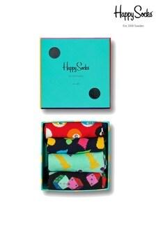 Happy Socks Multi Socks Four Pack Game Night Box