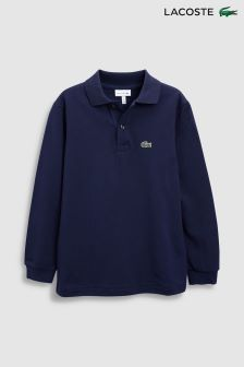 Lacoste® Classic Long Sleeved Polo