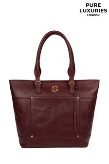 Pure Luxuries London Monet Leather Tote Bag