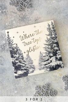 10 Pack Winter Wonderland Cards