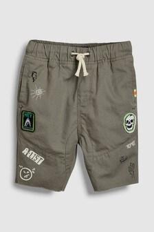 Badge Shorts (3-16yrs)