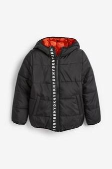 DKNY Black Reversible Jacket
