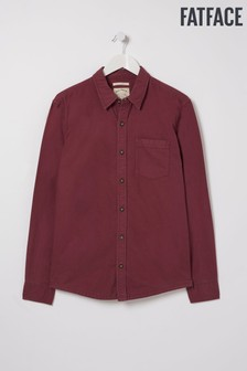 FatFace Purple Thornhill Oxford Shirt