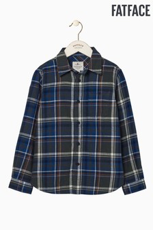 FatFace Green Check Shirt