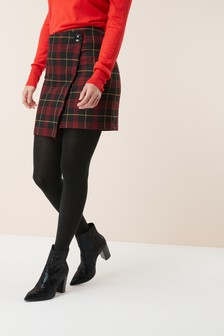 Tartan Check Mini Skirt
