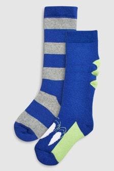 Набор носков с динозавром для резиновых сапог (2 пары) (Младшего возраста)
