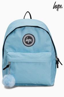 حقيبة ظهر زرقاء بكرات صغيرة من Hype.
