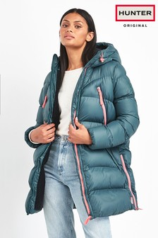 Hunter Womens Blue Original Padded Jacket