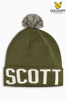 Lyle & Scott Logo Bobble Hat