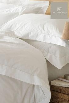 Oxford Egyptian Cotton Pillowcase by The Linen Yard