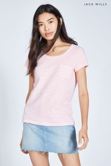 Jack Wills Fullford Stripe T-Shirt