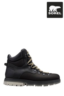 Sorel® Black Atlis™ Axe WP Hiker Boots