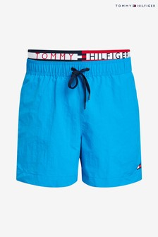Tommy Hilfiger Statement Waistband Swim Short