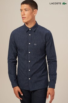 Lacoste® Navy Blue Long Sleeved Shirt