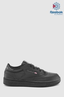 Reebok Black Club Trainers