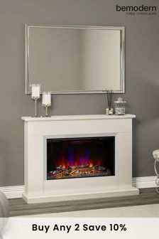 Holby Electric Fire Suite By Be Modern