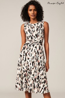 Phase Eight Multi Layla Abstract Print Dress