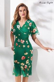Phase Eight Jade Hailey Floral Floaty Sleeve Dress