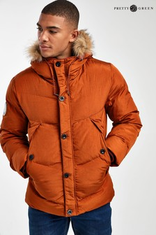 Pretty Green Bowman Padded Coat