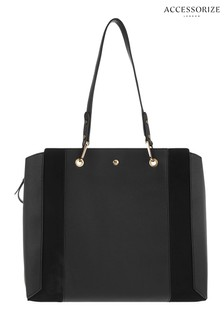 Accessorize Black Arabella Shoulder Bag