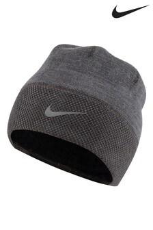 Nike Grey Running Beanie