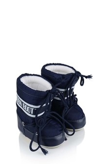 Baby Navy Mini Nylon Snow Boots
