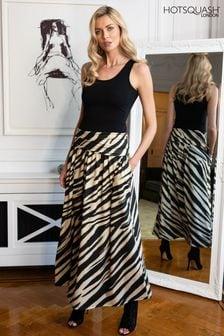 HotSquash Roll Top Maxi Skirt
