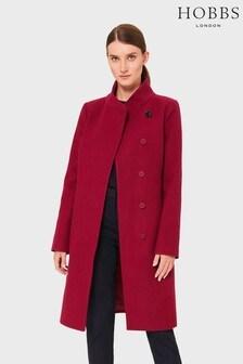 Hobbs Red Petite Maisie Coat
