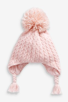 Cable Knit Hat (0mths-2yrs)