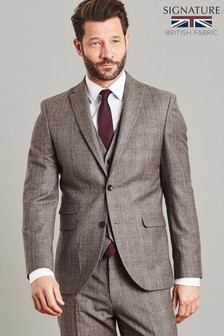 Empire Mills Signature Check Suit